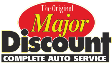 Major Discount Logo