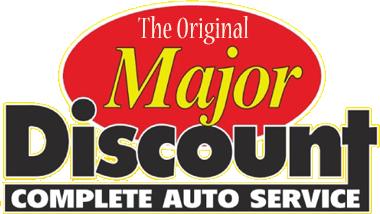Major Discount Logo