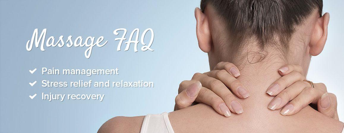 Massage FAQ
