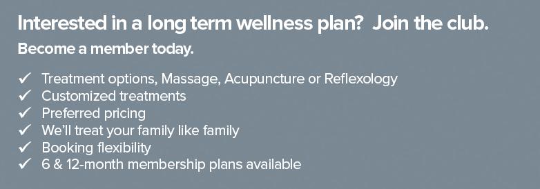 Long Term Wellness Plan