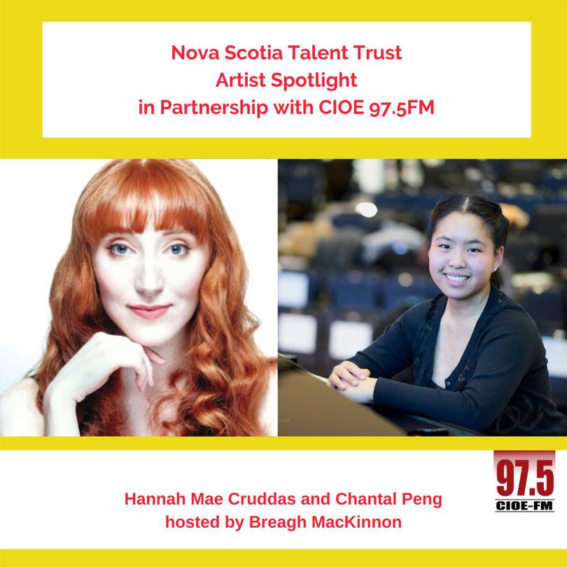 Hannah Mae Cruddas and Chantal Peng