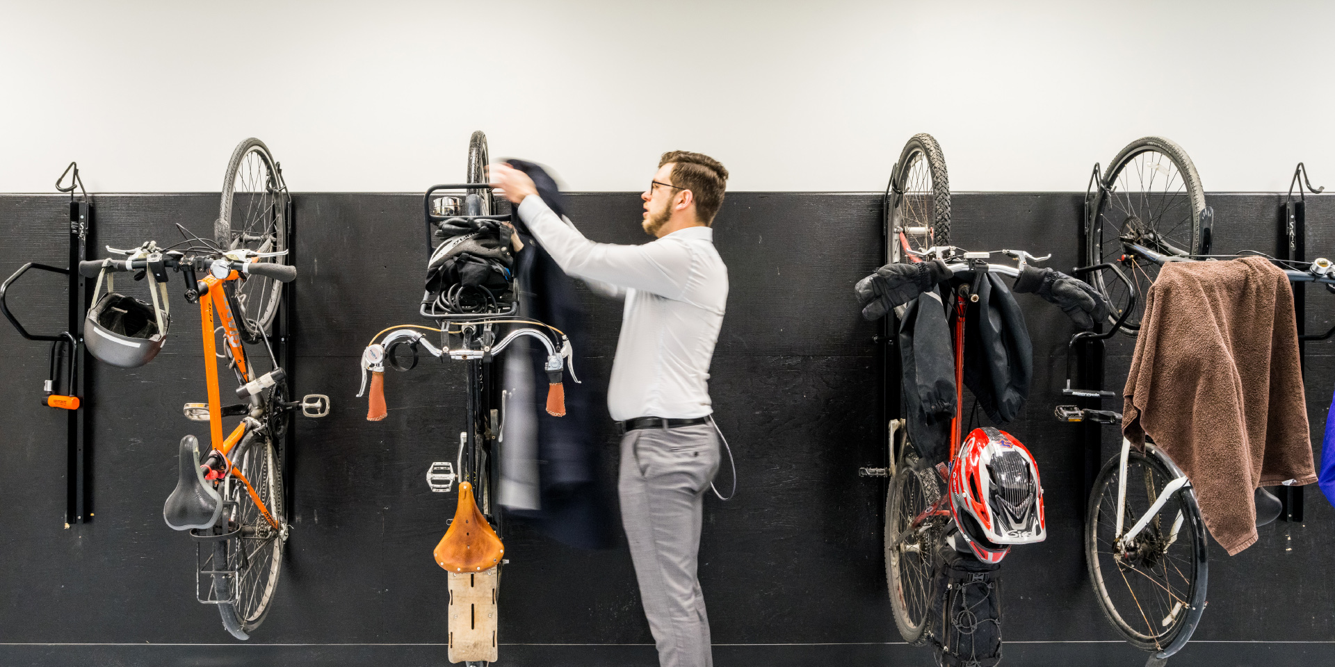 The Bike Room at Scotia Square