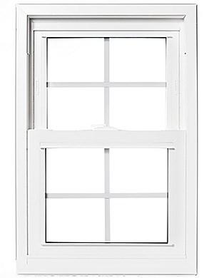 We have numerous styles of vinyl windows