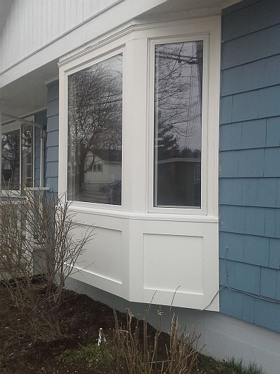 Here is one of our replacement window jobs