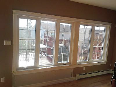 Casement windows are one type of window we can replace.