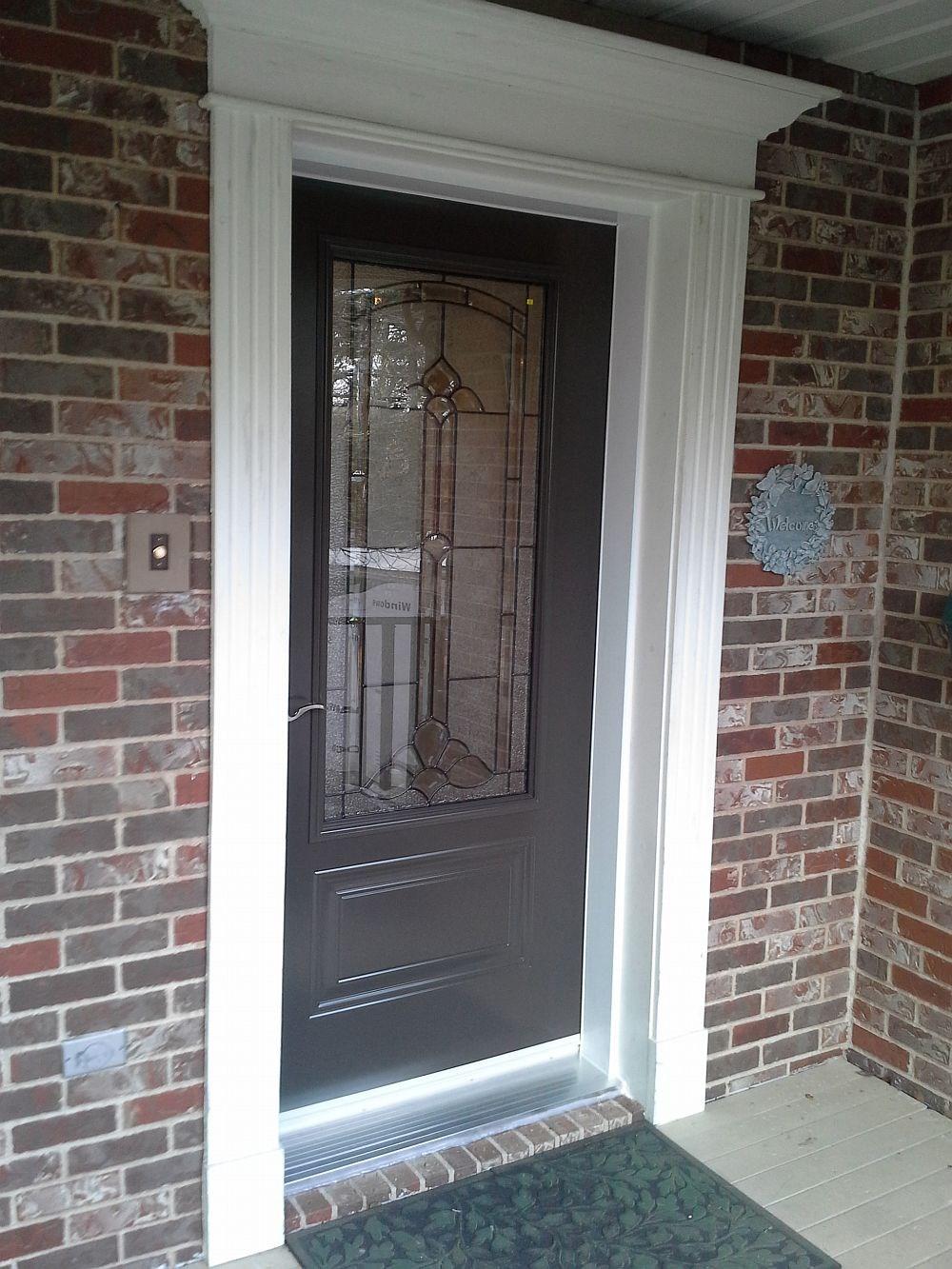 Another Steel door job done by the Windows Plus team.