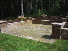 Xcel Landscaping can build stone patios.