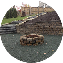 Xcel Landscaping can make a plan for your retaining wall.
